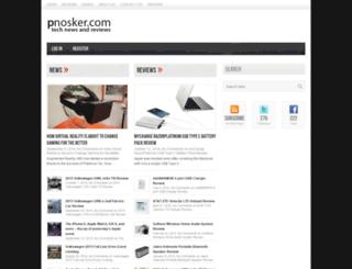 pnosker.com screenshot