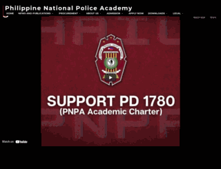 pnpa.edu.ph screenshot
