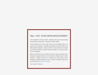 pnpimmigration.com screenshot