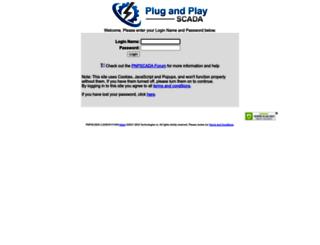 pnpscada.com screenshot