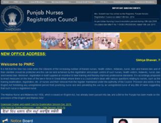 pnrc.in screenshot