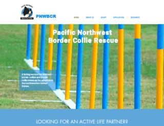 pnwbcrescue.org screenshot