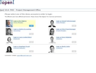 po40pmo.project-open.net screenshot
