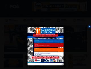 poa.sp.gov.br screenshot