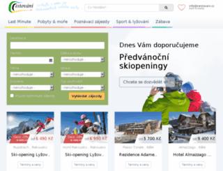 pocasi.cestovani.cz screenshot