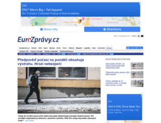 pocasi.eurozpravy.cz screenshot