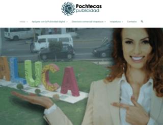 pochtecas.com.mx screenshot