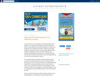 pocketentrepreneur.blogspot.com screenshot