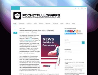 pocketfullofapps.com screenshot