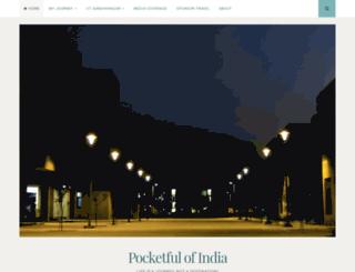 pocketfulofindia.wordpress.com screenshot
