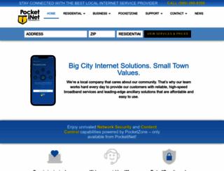 pocketinet.com screenshot