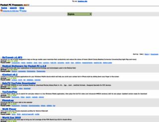 pocketpcfreeware.mobi screenshot