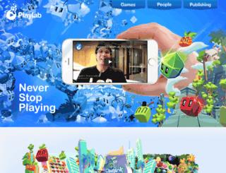 pocketplaylab.com screenshot