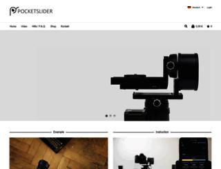 pocketslider.de screenshot
