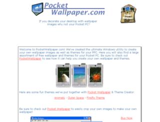 pocketwallpaper.com screenshot