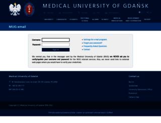 poczta.amg.gda.pl screenshot