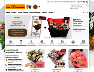 pocztakwiatowa.pl screenshot