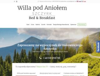 podaniolem.szczyrk.pl screenshot