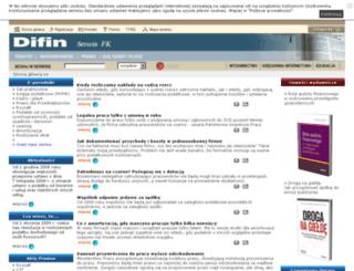 podatki.difin.pl screenshot