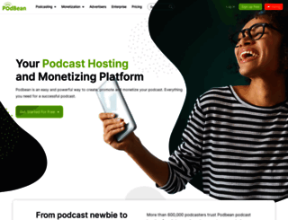 podbean.com screenshot