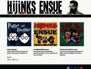podcast.hijinksensue.com screenshot