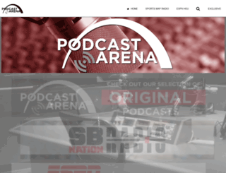 podcastarena.com screenshot