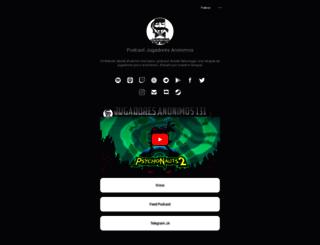 podcastjugadoresanonimos.es screenshot