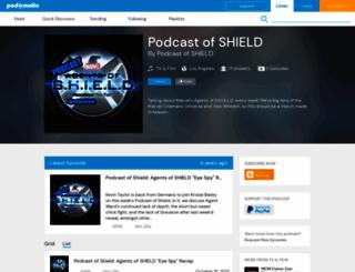 podcastofshield.podomatic.com screenshot