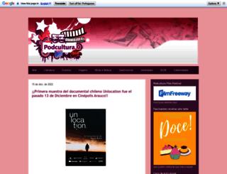 podcultura.com.br screenshot