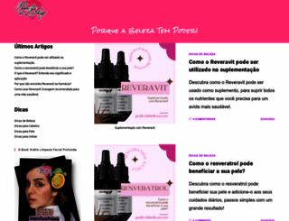 poderdabeleza.com screenshot