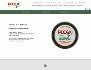 podex.info screenshot