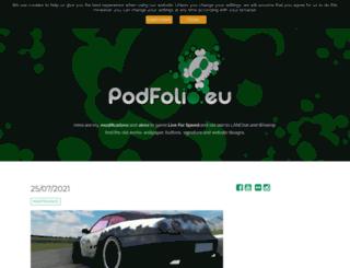 podfolio.eu screenshot