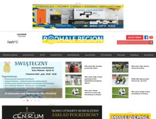 podhaleregion.pl screenshot