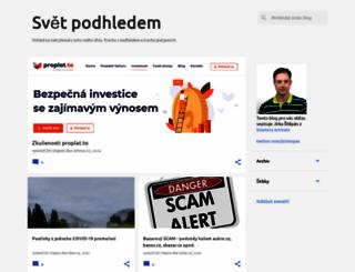 podhledem.blogspot.com screenshot