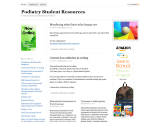 podiatrystudent.net screenshot