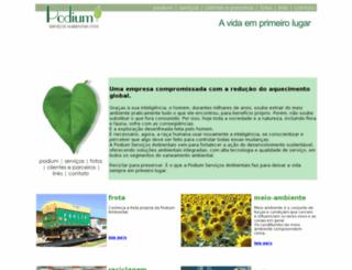 podiumambiental.com.br screenshot
