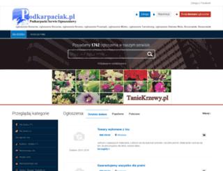 podkarpaciak.pl screenshot