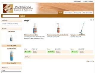 podlaharstvislaby.eu screenshot
