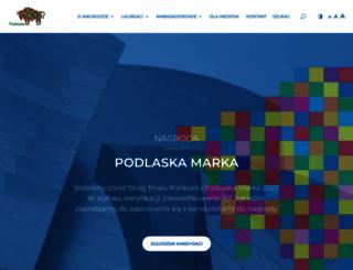 podlaskamarka.pl screenshot