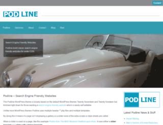 podline.co.uk screenshot