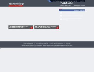 podlogi.apartamenty.pl screenshot