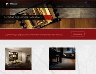 podlogidrewniane.pl screenshot
