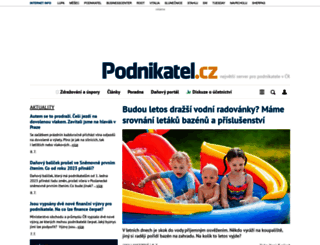 podnikatel.cz screenshot