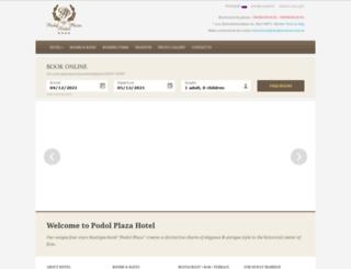 podolplazahotel.com.ua screenshot