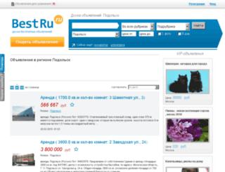 podolsk.bestru.ru screenshot