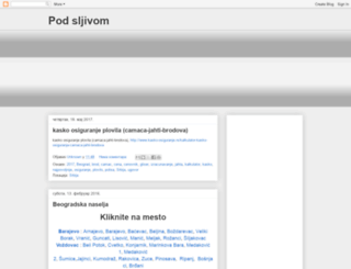 podsljivom.blogspot.com screenshot