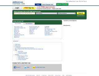 poea.jobstreet.com.ph screenshot