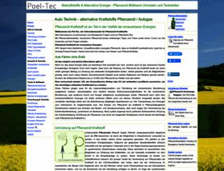 poel-tec.com screenshot