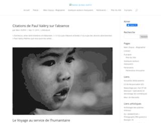 poemes-amour.net screenshot
