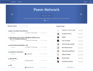 poemnetwork.com screenshot